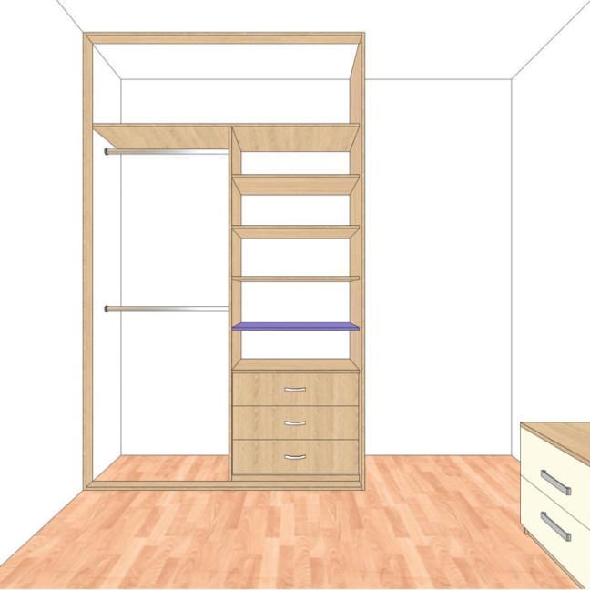 myśliwska 80.13pokój1 wnętrze szafy