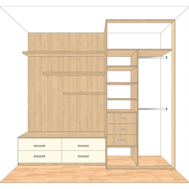 myśliwska80,13 pokój 2 szafa